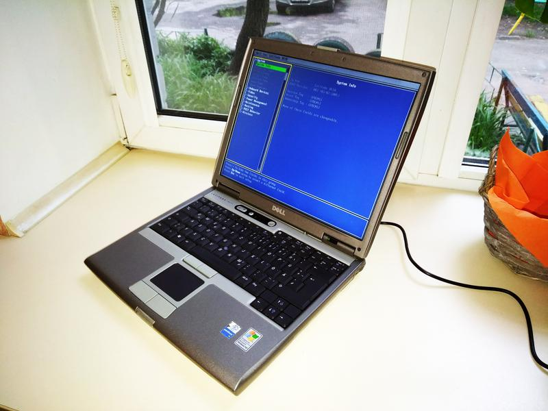 Ноутбук Dell Latitude D610 (Intel/RAM 2Gb) COM-порт Made In Irela