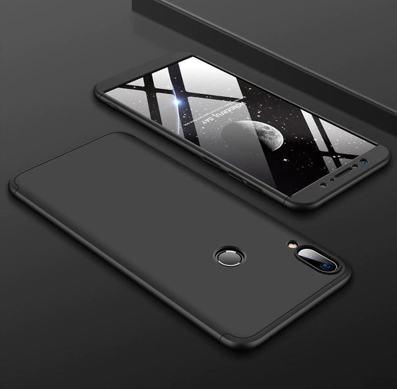 Чехол Asus Zenfone Max Pro M2 ZB631KL + стекло + кольцо + ремешок - Фото 2