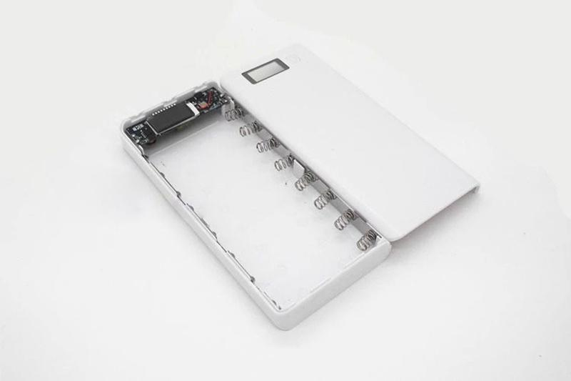 Корпус DIY Power Bank 8 x 18650 LCD дисплей 5V 2A - Фото 2