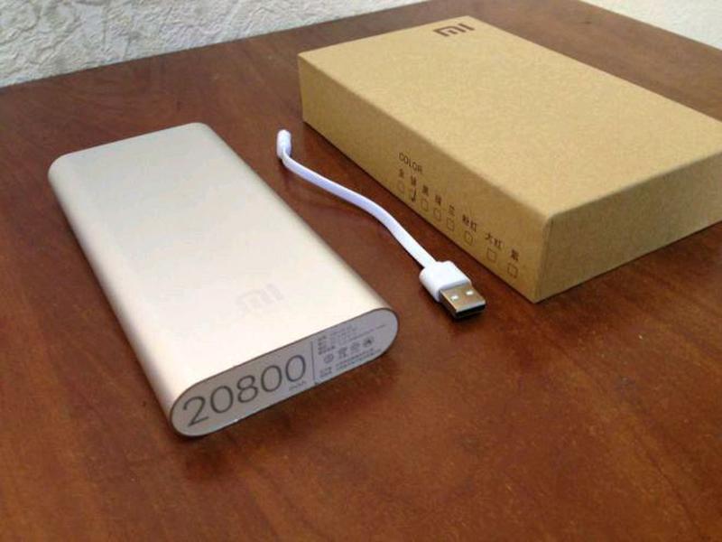 Повер банк Xiaomi 20800 mAh Power Bank Внешний Аккумулятор - Фото 4
