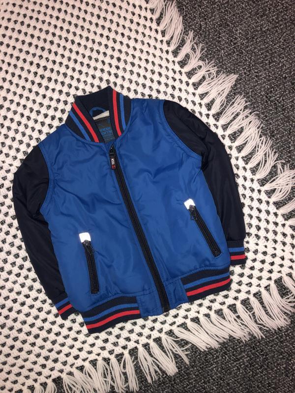 Бомбер, куртка m&s на 2-3 года