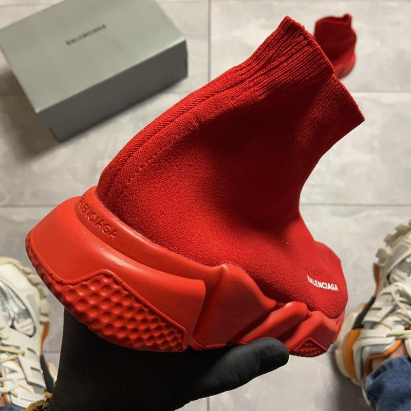 Balenciaga speed trainer all red. - Фото 4