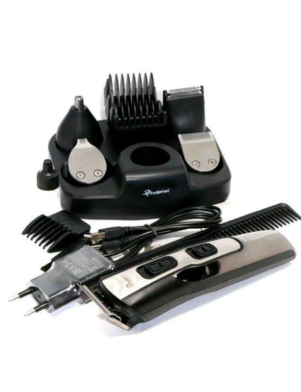 Профессиональная машинка для стрижки Gemei GM 592    10 в 1 - Фото 4