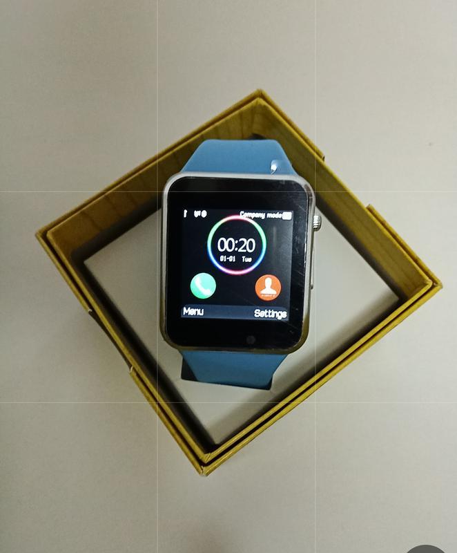 Смарт-годинник Smart Watch A1 Blue