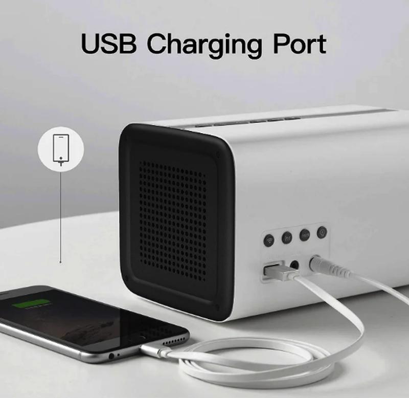 Колонка GGMM E3 Bluetooth /WiFi/Alexa/Multi Room Play /LED Clock - Фото 5