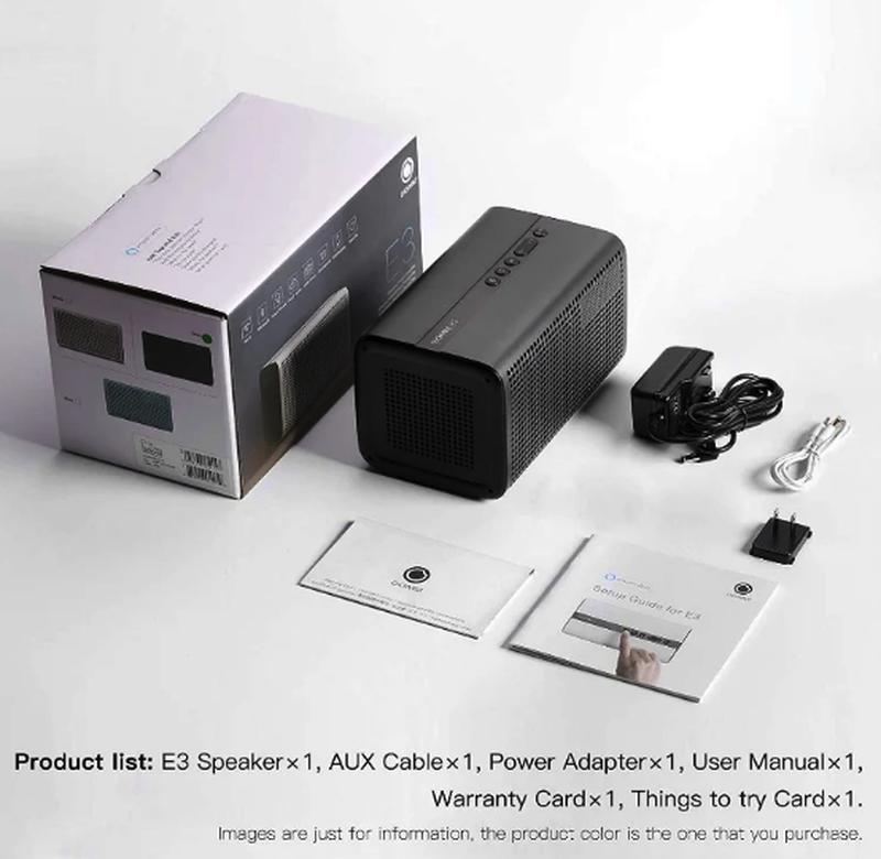 Колонка GGMM E3 Bluetooth /WiFi/Alexa/Multi Room Play /LED Clock - Фото 6