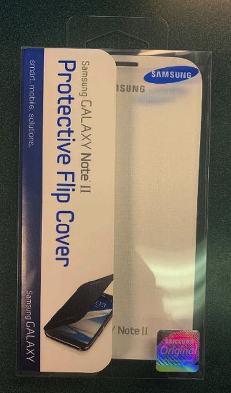 Чехол Samsung Galaxy Note II  N7100 (EFC-1J9FWEGSTA) - Фото 5