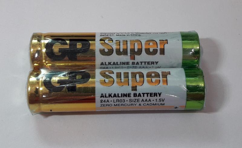 Батарейка GP 24A-S2 Alkaline LR03, AAA
