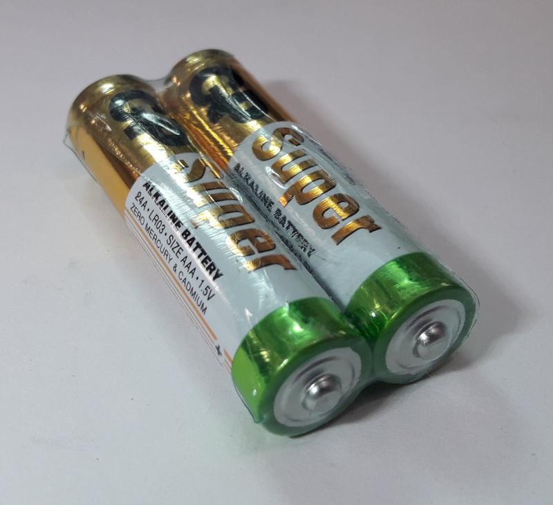 Батарейка GP 24A-S2 Alkaline LR03, AAA - Фото 2