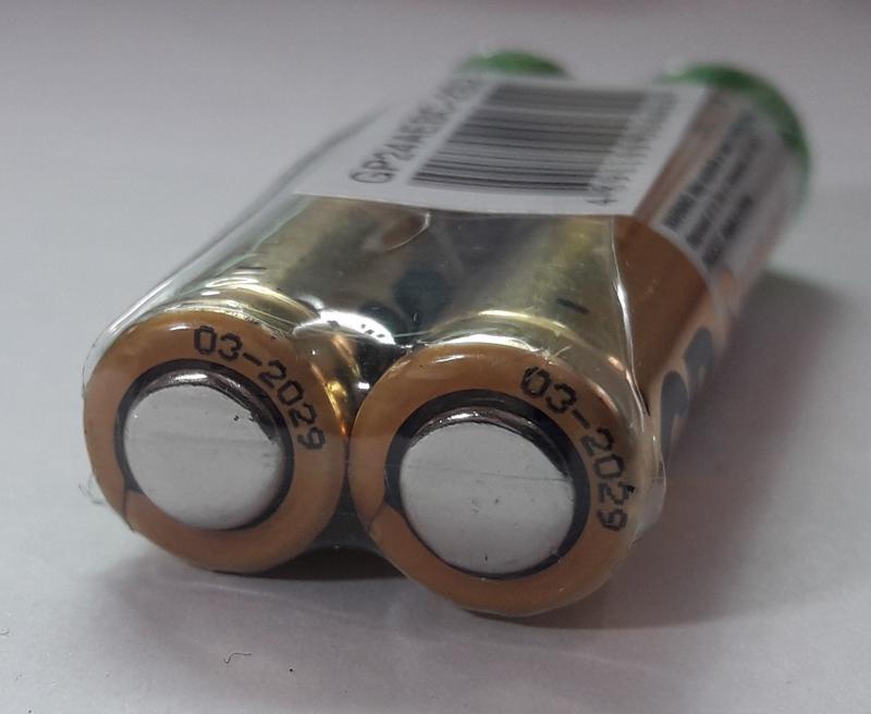 Батарейка GP 24A-S2 Alkaline LR03, AAA - Фото 3