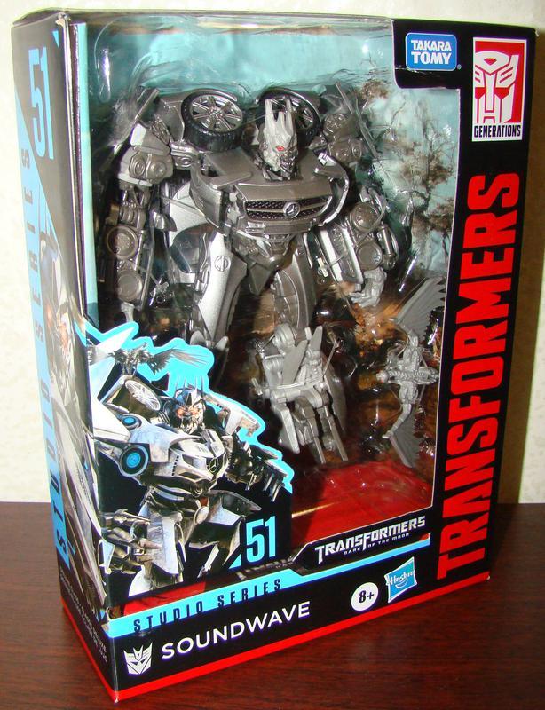 Transformers Studio Series 51 Soundwave. Hasbro Трансформер - Фото 2