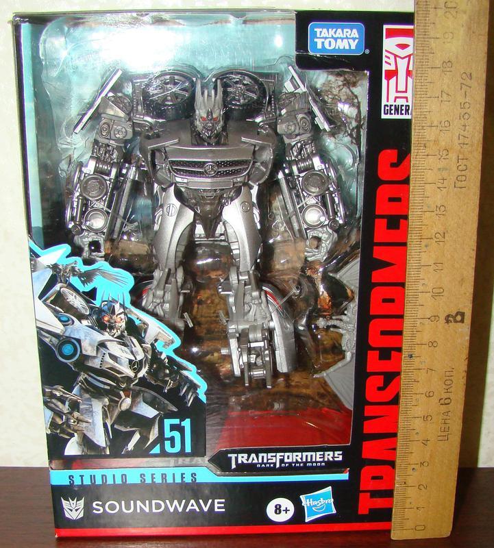 Transformers Studio Series 51 Soundwave. Hasbro Трансформер - Фото 7