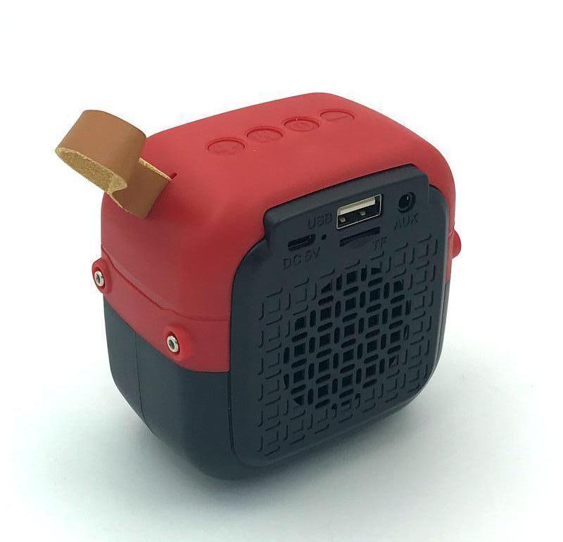 Колонка Bluetooth HOPESTAR T5 mini Red - Фото 2