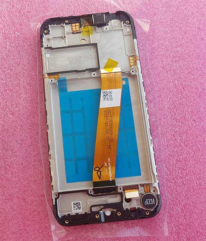 Купить дисплей Samsung A01 2020 (A015) черный с сенсором Ориг