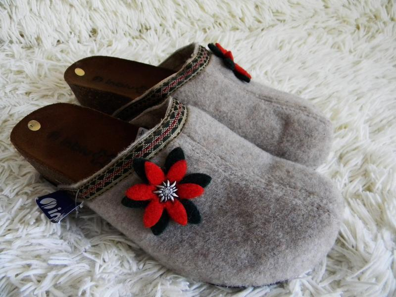 Теплые женские тапочки inblu 39-40р