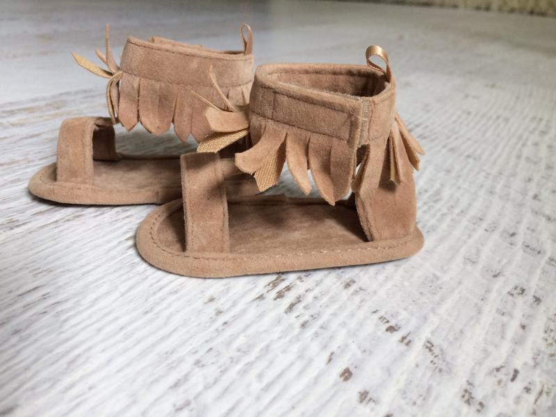 Пинетки первая обувь