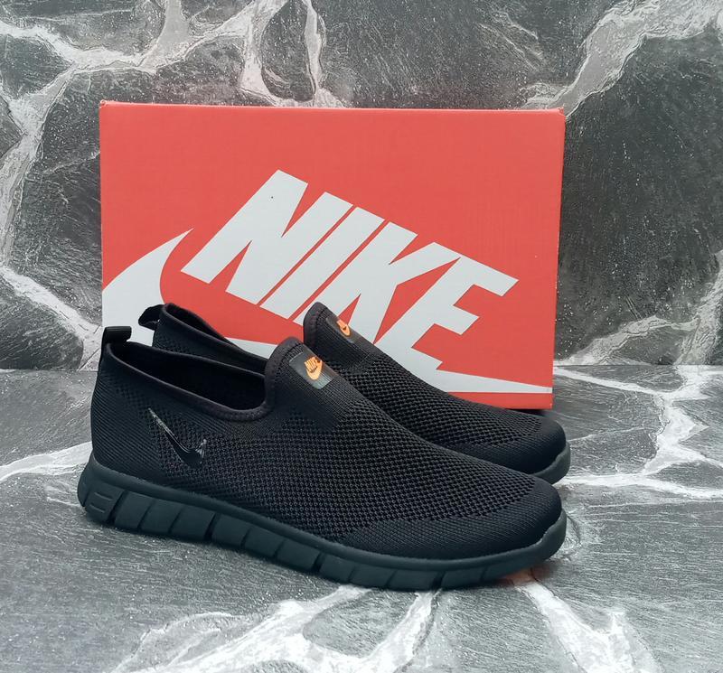 Мужские кроссовки nike free run 3.0 сетка,летние,черные,беговые