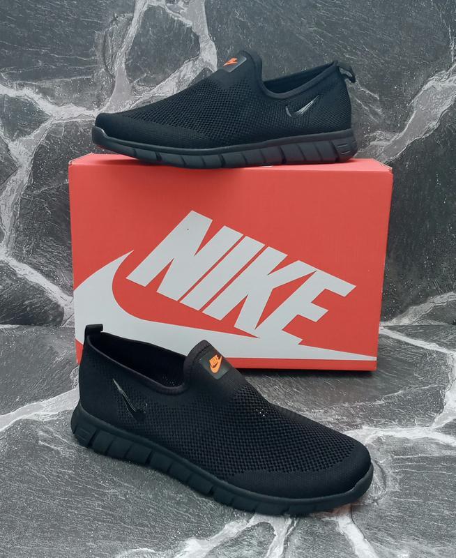 Мужские кроссовки nike free run 3.0 сетка,летние,черные,беговые - Фото 2