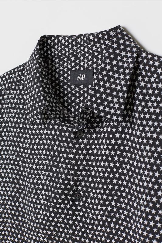 Мужская рубашка h&m - Фото 2