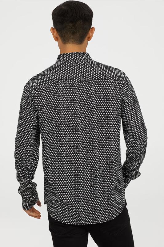 Мужская рубашка h&m - Фото 3
