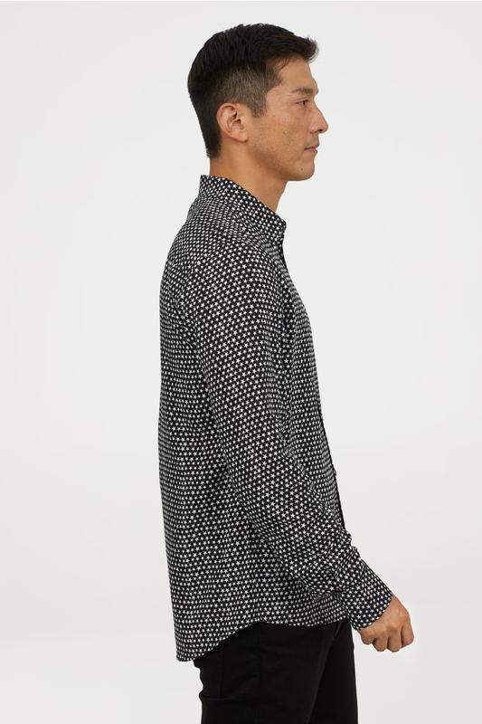 Мужская рубашка h&m - Фото 4