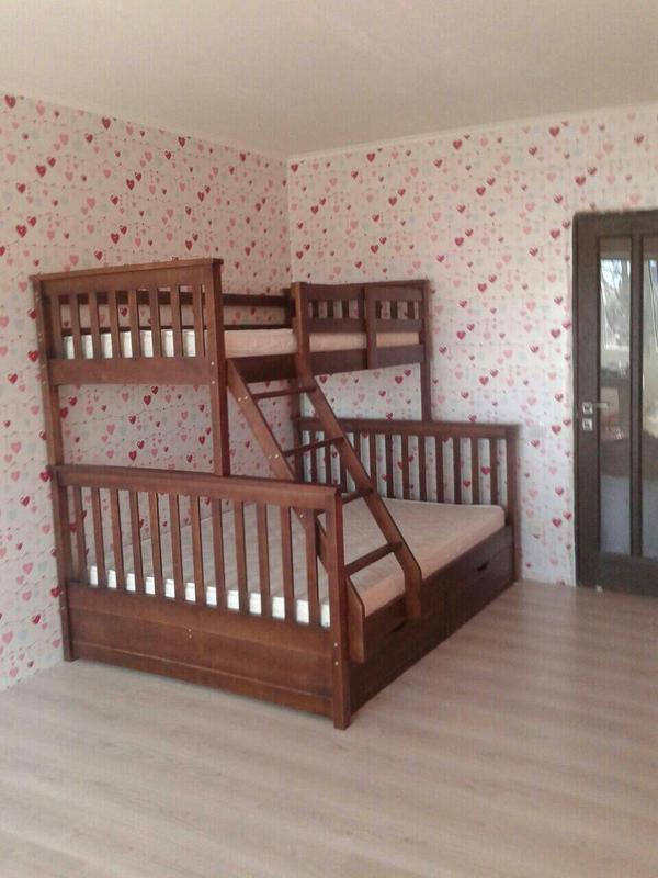 Семейная кровать Жасмин с ящиками. - Фото 3