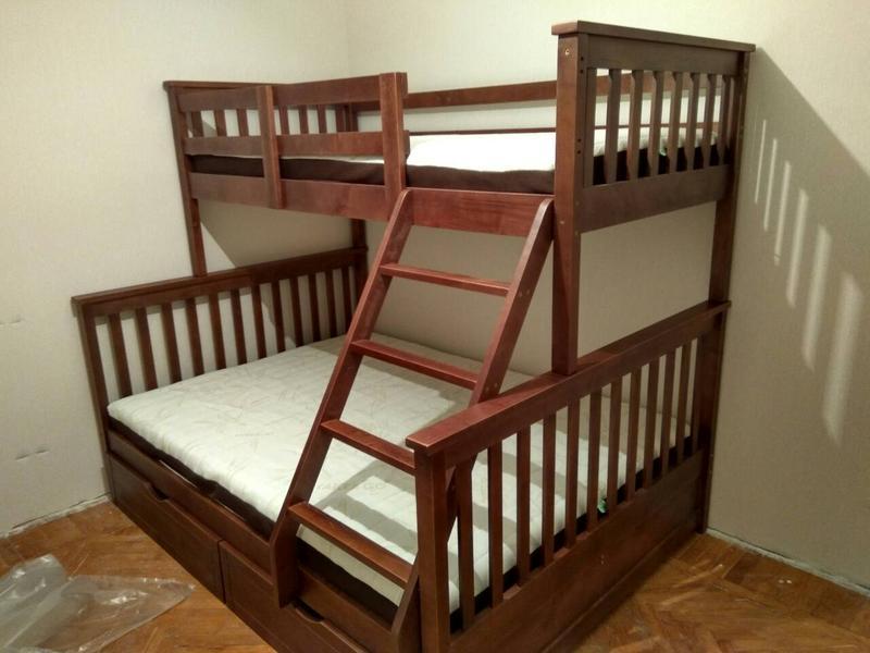 Семейная кровать Жасмин с ящиками. - Фото 4
