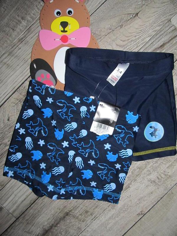 Плавательные шорты george на 3-4 года 98-104см