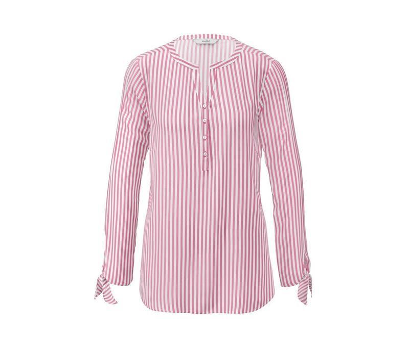 Стильная блузка в полосочку от tchibo-германия евро 48