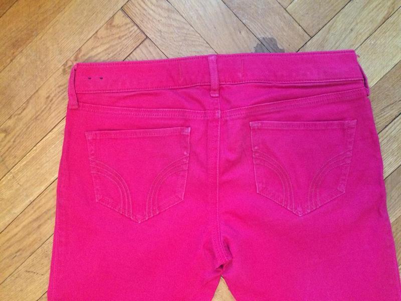 Стильные, яркие джинсы скинни,от бренда hollister - Фото 3