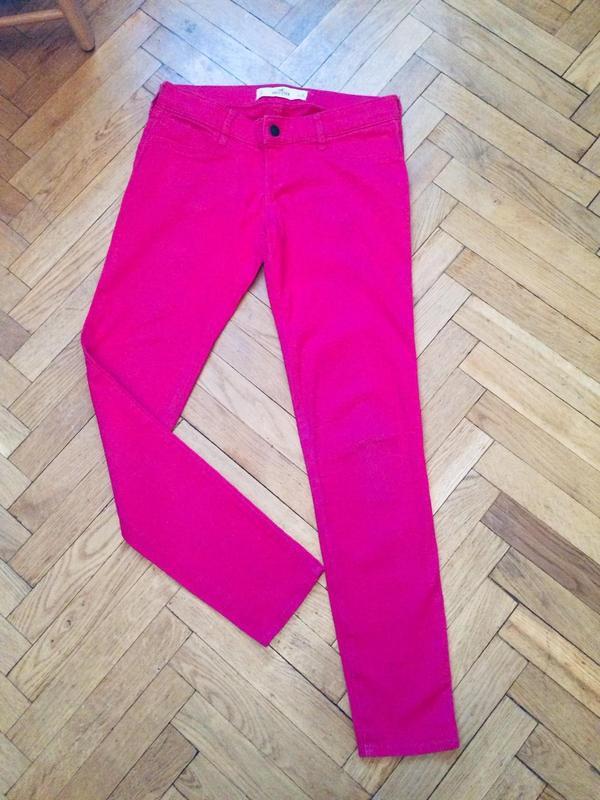 Стильные, яркие джинсы скинни,от бренда hollister - Фото 4