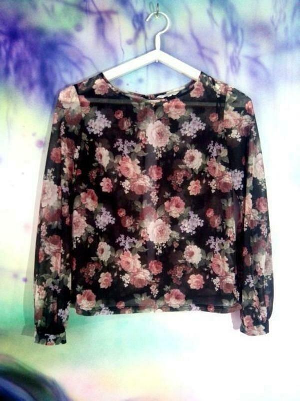 Блузка с открытой спинкой-бренд--new look--12\14р   №134