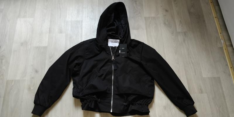 !продам новую женскую демисезонную куртку ветровку бомбер с ка... - Фото 2