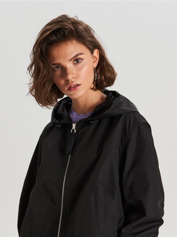 !продам новую женскую демисезонную куртку ветровку бомбер с ка... - Фото 3