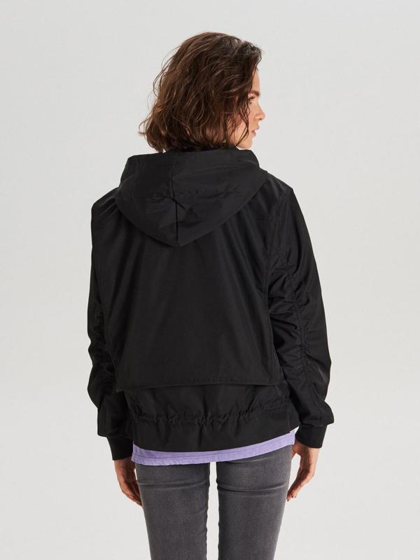 !продам новую женскую демисезонную куртку ветровку бомбер с ка... - Фото 5