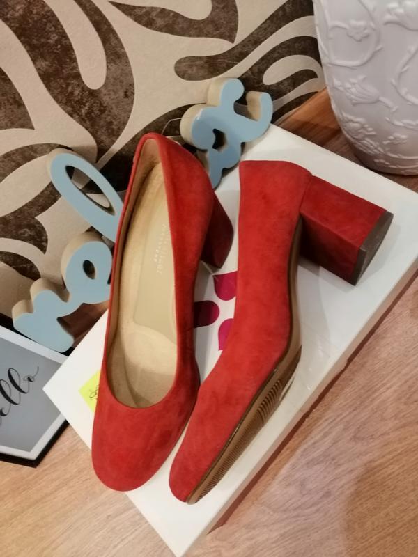 Стильные туфли из натуральной замши. zara naturalizer. nine west - Фото 4