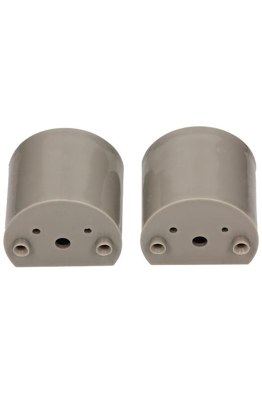 Фурнитура для туалетных перегородок - комплект 18/100 серый - Фото 6