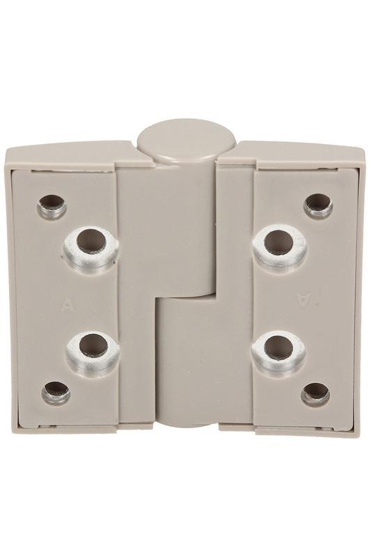 Фурнитура для туалетных перегородок - комплект 18/100 серый - Фото 5