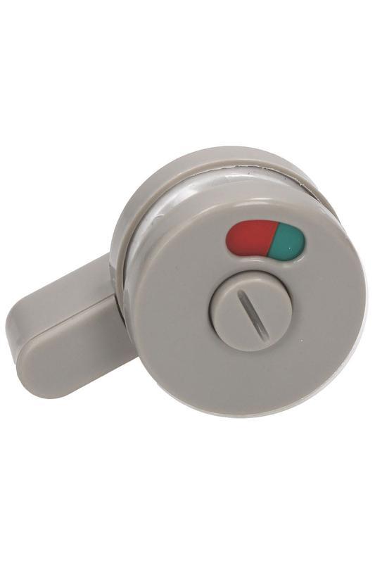 Фурнитура для туалетных перегородок - комплект 18/100 серый - Фото 2