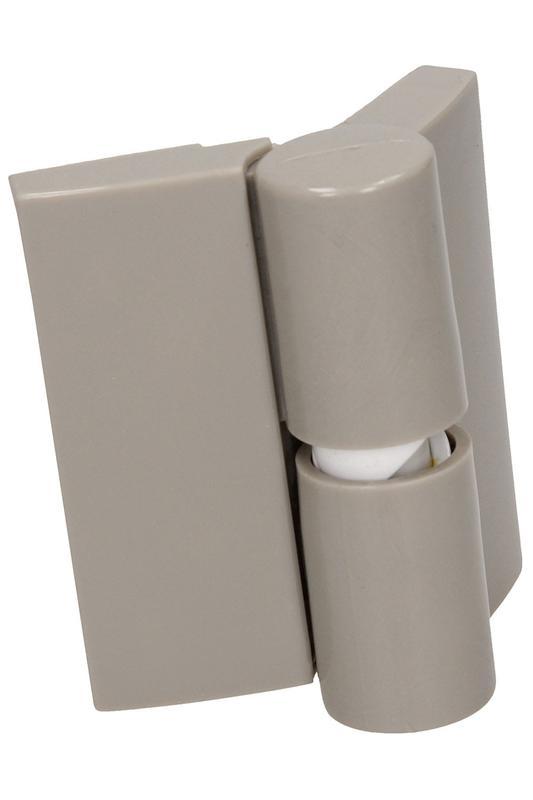 Фурнитура для туалетных перегородок - комплект 18/100 серый - Фото 4
