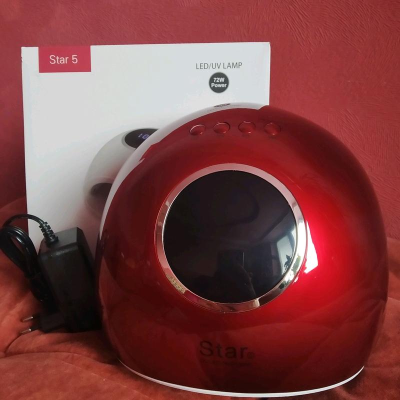 Лампа Star 5 72Вт красная