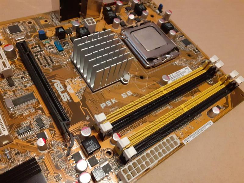 Материнская плата Socket 775 ASUS P5K SE+Core™2 Duo E6750 Чипсет - Фото 2