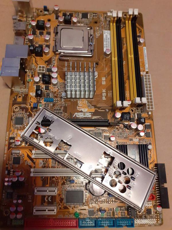 Материнская плата Socket 775 ASUS P5K SE+Core™2 Duo E6750 Чипсет
