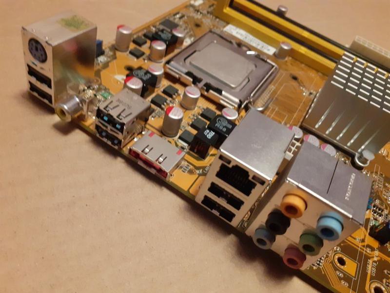 Материнская плата Socket 775 ASUS P5K SE+Core™2 Duo E6750 Чипсет - Фото 3