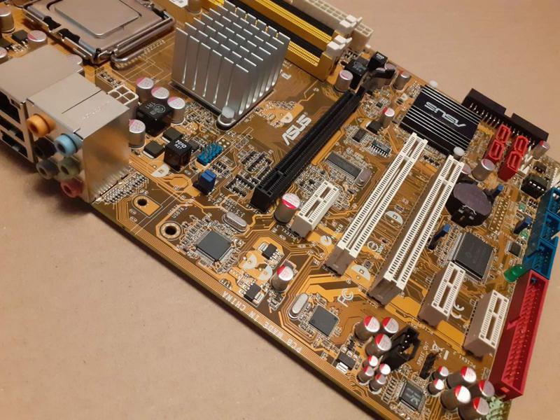 Материнская плата Socket 775 ASUS P5K SE+Core™2 Duo E6750 Чипсет - Фото 4