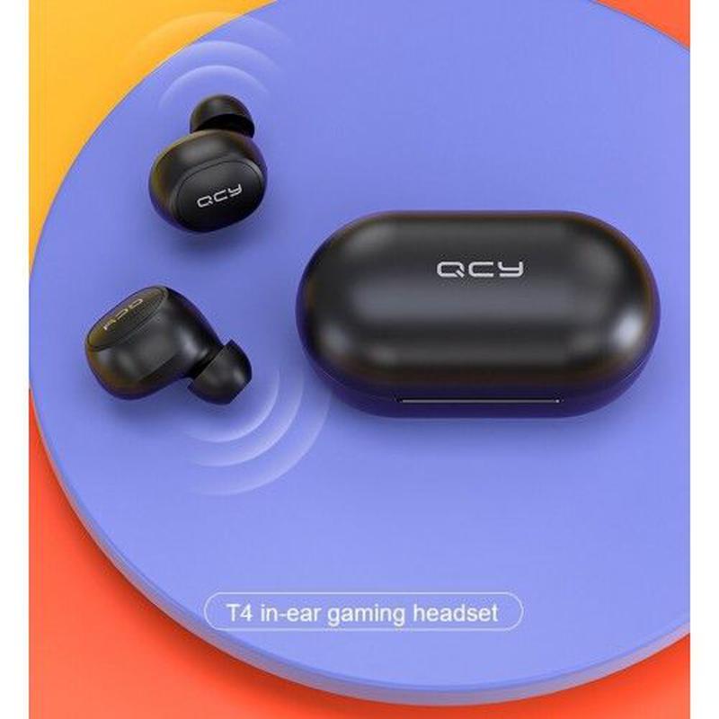 QCY T4 - беспроводные наушники bluetooth гарнитура + Гарантия! - Фото 4