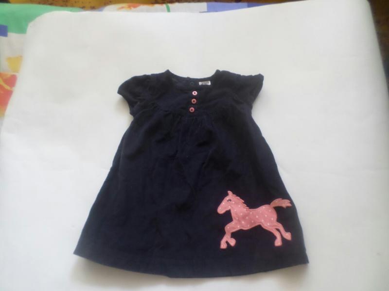 Платьице на девочку 9 месяцев