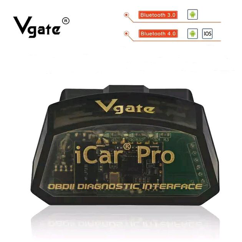 Автосканер VGate iCar Pro (BT4.0)  Android, IOS.
