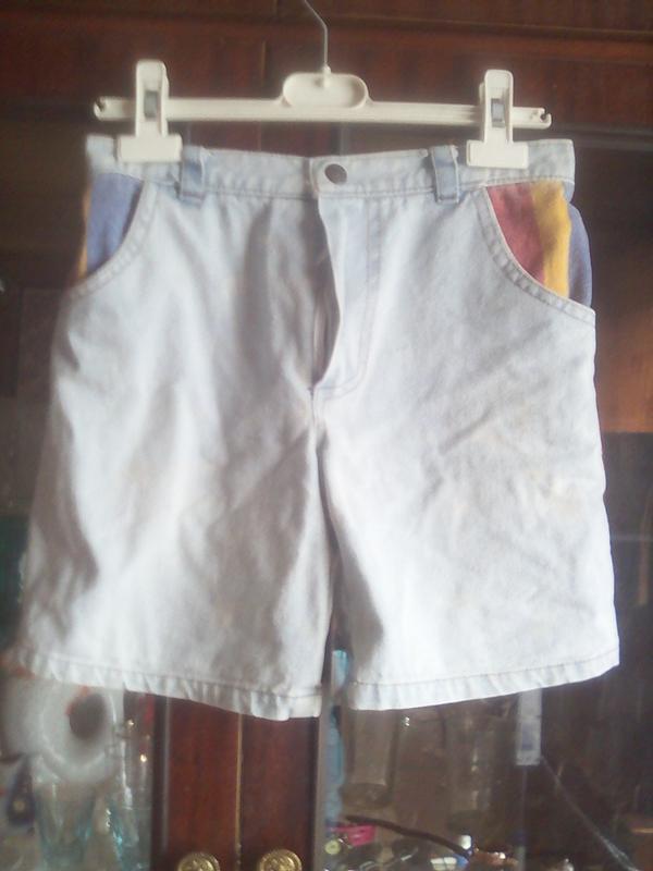 Шорты джинсовые  варёнки пот-29см