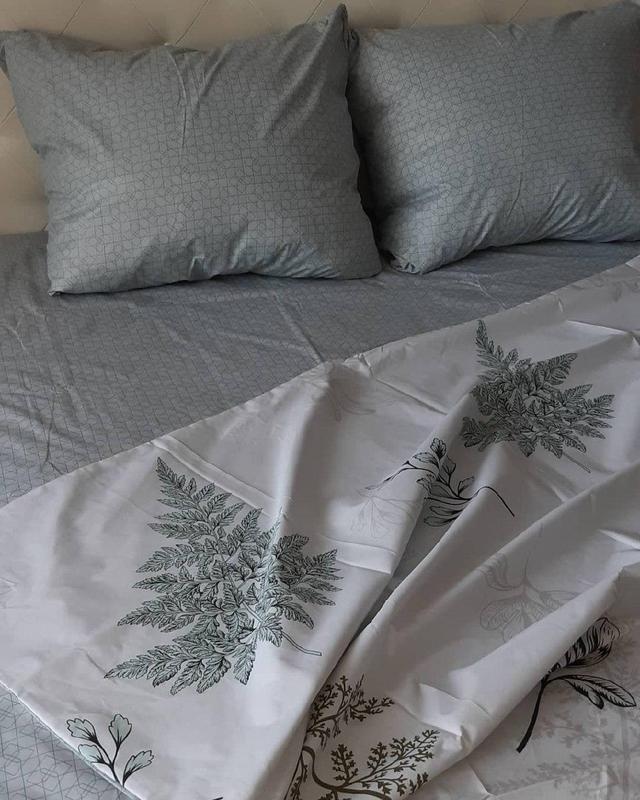 Постельное белье лист папоротника . полуторный